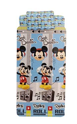 Mickey Mouse Completo Letto Blu Singolo