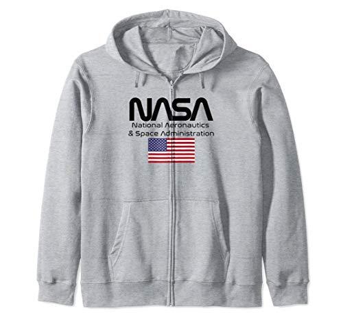 Logotipo de la NASA Sudadera con Capucha