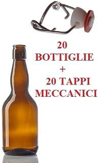 Confezione da 20 bottiglie di vetro ciliegia 330 ml 33 cl