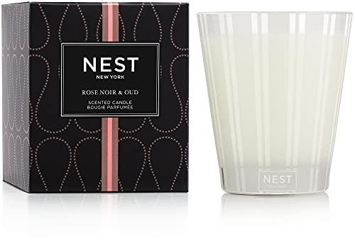 NEST Fragrances Rose Noir & Oud Scented Classic Candle