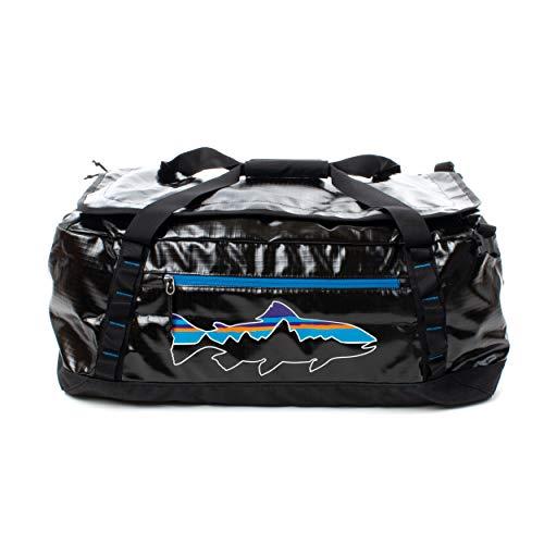 [パタゴニア]Patagonia Black Hole Duffel Bag ブラックホール ダッフル 49342 Black w/Fitz Trout 55L [並行輸入品]