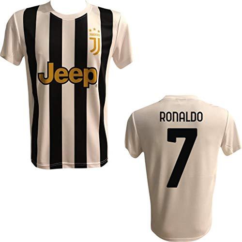 Maglia Calcio Replica Ufficiale AUTORIZZATA Home Ronaldo BIANCONERA Adulto E Bambino Personalizzata Personalizzabile Juv JUVENTU 2020/2021
