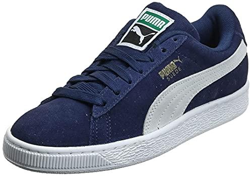 PUMA Suede Classic +, Sneaker Uomo, Blu Peacoat White, 39 EU