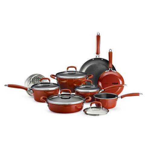 Tramontina Cookware 13 Piece Set in Red