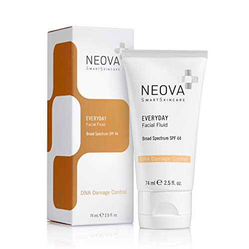 NEOVA SmartSkincare Everyday Broad Spectrum 44 sunscreen protects against UVA/UVB rays with a hyper antioxidant defense and oil-free hydration.