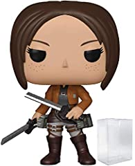 Bundled Plastic Box Protector with the collector in mind (Removable Film) From Attack on Titan, Ymir, as a stylized POP vinyl from Funko! Stylized collectable stands 3 ¾ inches tall, perfect for any Attack on Titan fan! Ships in acid-free PET plastic...