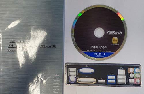 ASRock Z68 Pro3 Gen3 Handbuch - Blende - Treiber CD