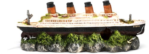 Europet Bernina 234-237601 Bubble-Decor Schiffswrack (Titanic) 39 x 11 x 14 cm