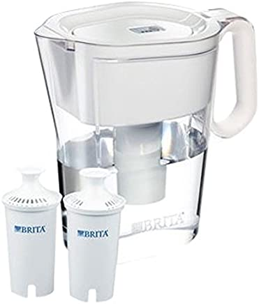 Brita Wave 10 Cup Water Pitcher Plus 2 Advance Filters Clear - NEW