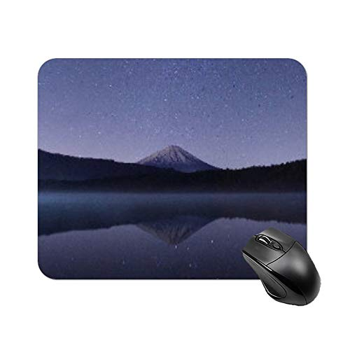 """Yilooom Beautiful Night Nature Scenery Rectangle Non Slip Rubber Mousepad Gaming Mouse Pad 9""""x7"""""""