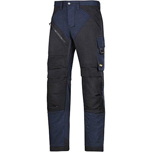 Snickers Workwear 6303 RuffWork Arbeitshose, navyschwarz, 46