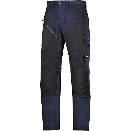 Snickers Workwear 6303 RuffWork werkbroek, zwart, 46 124 Navyzwart