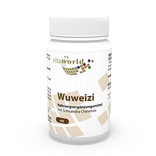 Vita World Wuweizi 500mg 60 Kapseln Apotheken Herstellung Wu Wei Zi