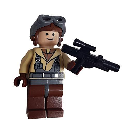 LEGO Star Wars LOOSE Minifigur Naboo Pilot mit Blaster