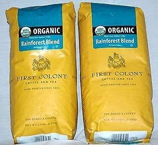 First Colony Coffee and Tea Rainforest Blend USDA Organic Arabica Coffee