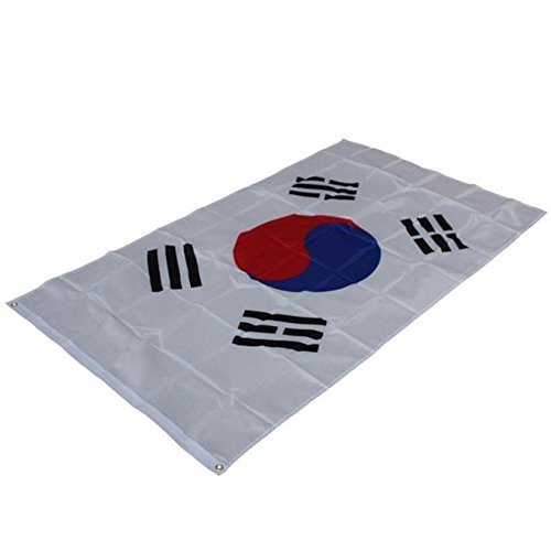 Flagge Fahne,COLORFUL Österreich Flagge 3x5 ft Südkorea Koreanische Flagge Banner