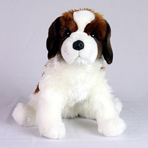 Memorable Pets San Bernardo Hund Plüschtier Puppe für die Person mit normalem Alterungsgedächtnisverlust oder Betreuer