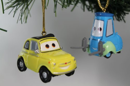 Disney's Cars 'Luigi and Guido' Ornament Set - Limited Availability - (2) Ornaments Included