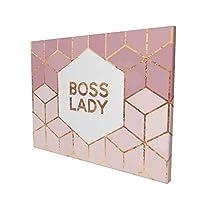 Boss Lady アートデリ ポスター パネル 絵キャンバスの壁アート 木製の枠 アートワーク 壁飾り 壁ポスター おしゃれ 30*40cm 玄関やリビング お祝いや贈り物に 雰囲気 癒し