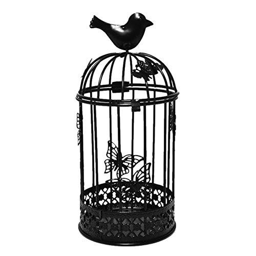 Motto.h - Candelabro grande para pájaros (metal, artesanía, candelabro, para decoración de...