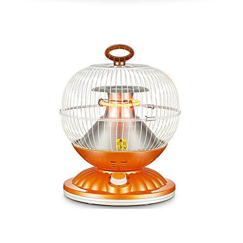 AUED Mini Calentador, Birdcage Calentador portátil silencioso Calentador eléctrico de Ventilador de...