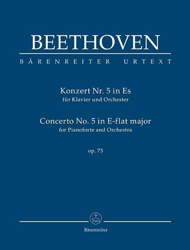 Konzert für Klavier und Orchester Nr. 5 Es-Dur op. 73. Studienpartitur, Urtextausgabe