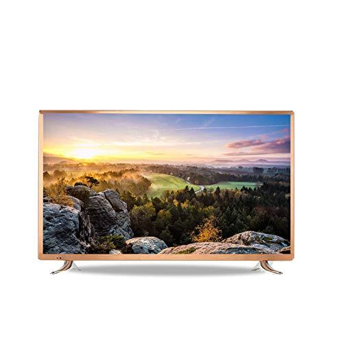 LYYAN Smart TV de 32/42/55/60 Pulgadas, televisor HD de 720p, Altavoces Integrados en el televisor, HDMI de múltiples entradas, Puerto USB y Control Remoto