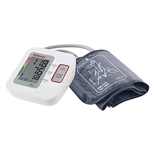 Visocor 25060 OM60 Blutdruckmessgerät Oberarm mit Universal-Bügelmanschette (22-40cm) Zur Vollautomatischen Messung von Blutdruck und Puls