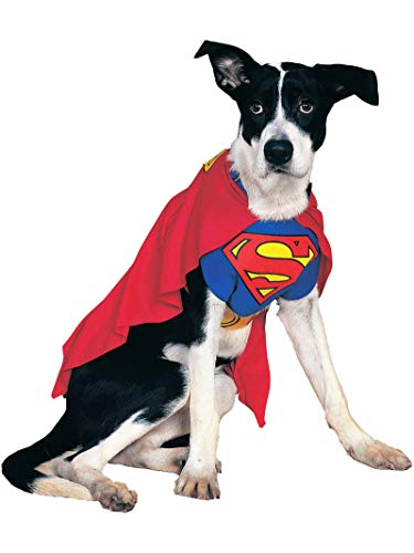 Rubie's IT887892-M - Costume Superman Dog, S