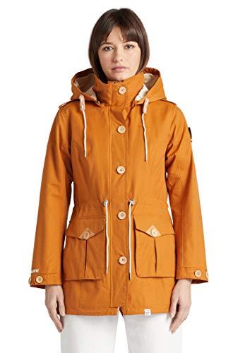 khujo Arezu Frauen Übergangsjacke gelb S 70% Polyamid, 30% Baumwolle Basics, Streetwear