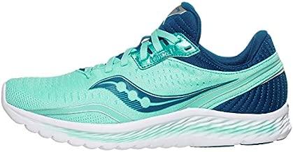 Saucony Women's S10552-25 Kinvara 11 Running Shoe, Aqua/Blue - 6 W US