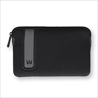 CaseCrown Horizontal Neoprene Sleeve (Black) for Barnes & Noble Nook Simple Touch