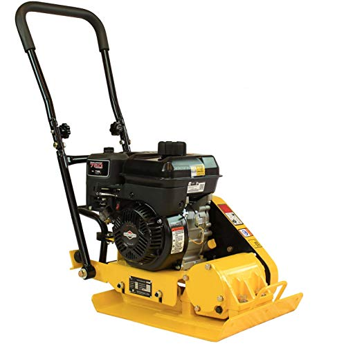 RuggedMade MS60B 2,400 Pound Compaction Force Plate Compactor with 5HP Engine