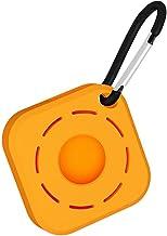 Prevessel 2021 draagbare beschermhoes, compatibel voor AirTags, vloeibare siliconen beschermhoes met sleutelhanger ring, a...