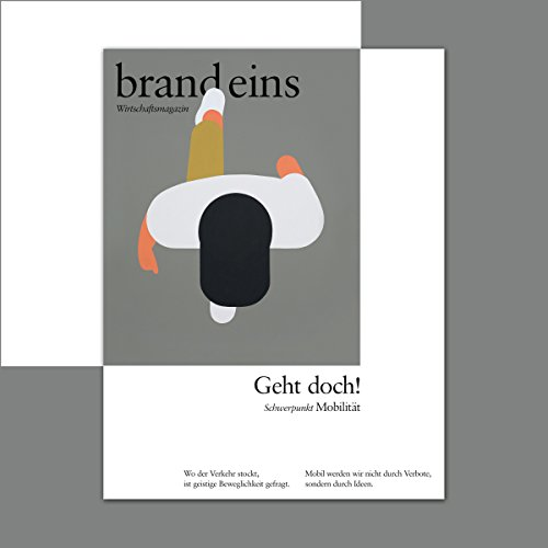 brand eins audio: Mobilität audiobook cover art