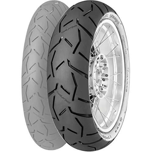 Continental 56164 Neumático 130/80 R17 65H, Contitrailattack 3 para Moto, Todas Las Temporadas
