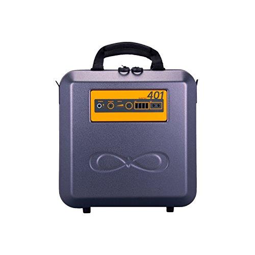 Kalisaya KP401 KaliPAK 384-Watt Hour Portable Solar Generator System w/ 40W Solar Panel Included, 4xUSB, 2X12V, Storage/ Phones/ Lights/ Freezers/CPAP Machine/Drones