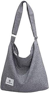حقائب هوبو للنساء، حقائب كروسبودي فانسباك للنساء قماش حمل حقيبة للنساء حقائب الكتف هوبو حقيبة A4 محافظ هوبو
