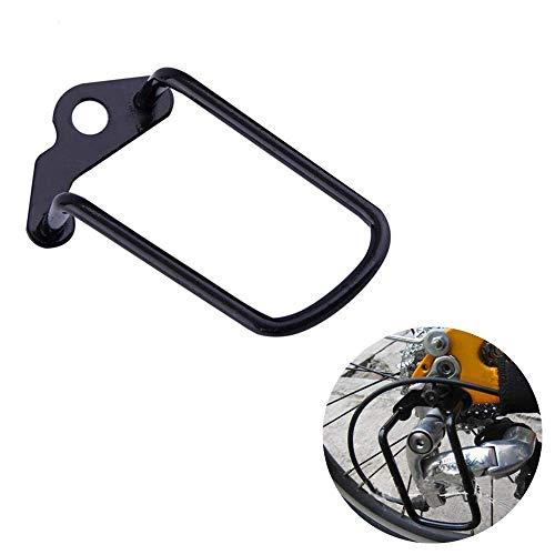 CROWNXZQ Accessori per Biciclette con Telaio della Piastra di Protezione della Catena del Cambio della Ruota Posteriore Regolabile per Mountain Bike, Adatti per Mountain Bike da Esterno, Nero