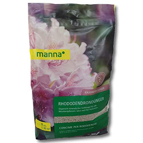 Hauert Manna Engrais Rhododendron 2 kg Azalées Bruyères Callunen Morbeetpflanzen