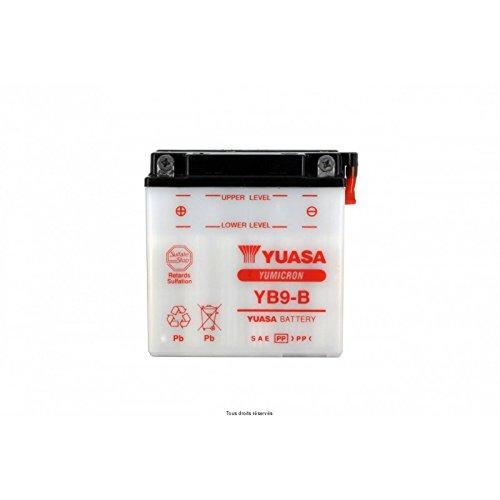 Yuasa–Batería yuasa YB9-B Daelim VS 125Solution 2001–2007