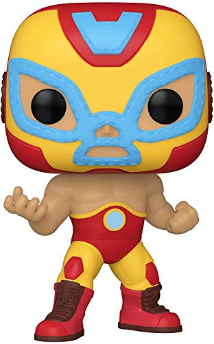 Funko- Pop Marvel Luchadores Iron Man Juguete coleccionable, Multicolor (53871)