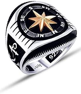 خاتم فضة 925من عتيق للرجال ، atiq-R-007-12