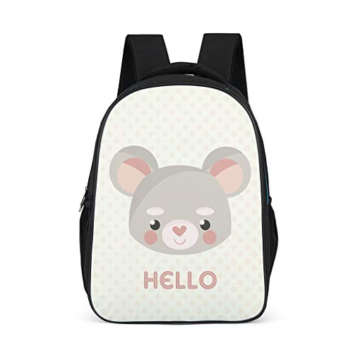 animal Little Kid's Backpacks Classic All Over Print Sports animal grey onesize