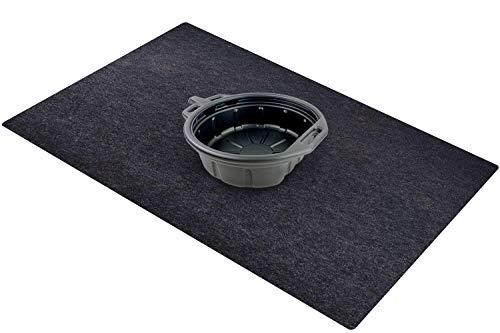 "Garage Floor/Oil Spill Mat/Welping Box Liner/Maintenance Mat (36""x 60""), Absorbent/Reusable/Washable/Waterproof/Cuttable – Spill Pad Contains Liquids, Protects Garage Floor/Welping Box Surface"