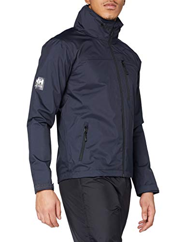 Helly Hansen Crew Veste Shell Jacket, Slate, XL Mens