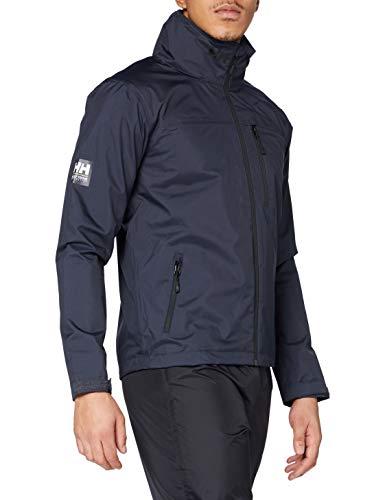 Helly Hansen Crew Veste Shell Jacket, Slate, M Mens