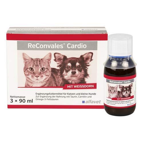Alfavet ReConvales Cardio Ergänzungsfuttermittel zur Unterstützung der Herzfunktion bei chronischer Herzinsuffizienz