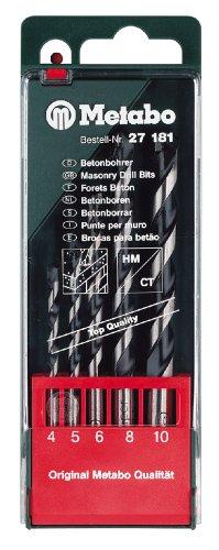 Metabo 627181000 Beton-Bohrerkassette pro 5-teilig