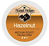 Roast Ridge Single Serve Coffee Pods Compatible with Keurig K-Cup Coffee Brewers, Hazelnut 100 Ct.
